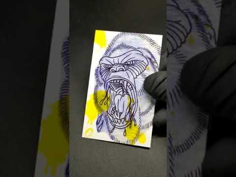 Video | Biglietti da visita tattoer speciali uv