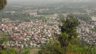 preview picture of video 'Srinagar City View From Shankaracharya Temple - Kashmir Tourism Video'