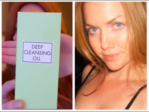 DHC Deep Cleansing Oil: Girl Get Glamorous Review & Demo