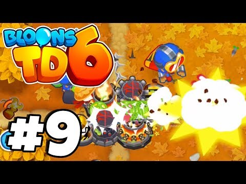 CRAZY CHOKE POINT* - Bloons Tower Defense 6 Part 9 (BTD 6