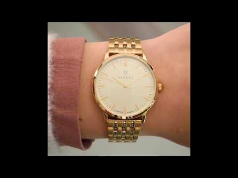 Renard Elite 35.5 watch champagne/gold