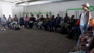 Godfrey completed workseeker support at the Harambee Philippi branch Hes been employed
