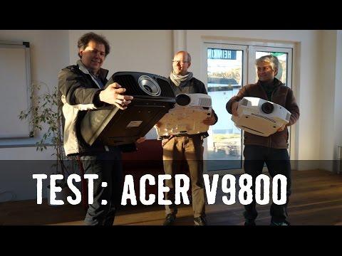 Test: Acer V9800 4K UHD DLP Projektor mit HDR - Review