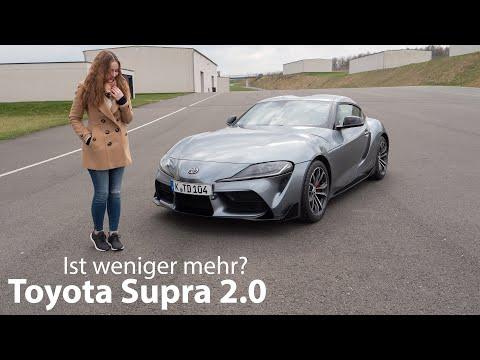 2020 Toyota GR Supra 2.0 Test / Ist weniger mehr? - Autophorie