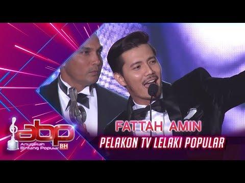 Fattah Amin - Pelakon TV Lelaki Popular   #ABPBH31