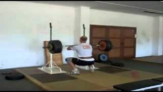 Robert Harting - front squat 180kg - 2011