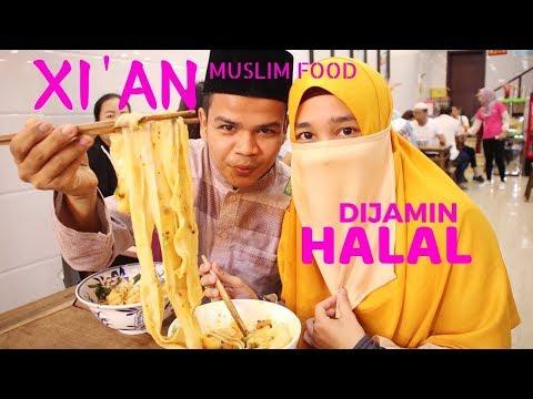 SURGA Makanan HALAL di China - XIAN Muslim Street Food