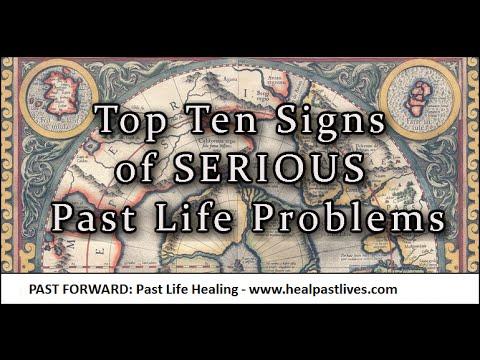 Reïncarnatie - Top tien tekenen van ERNSTIGE problemen in vorige levens