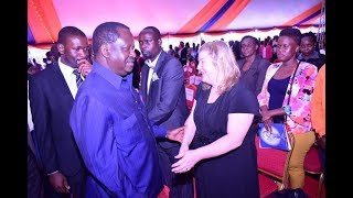 Hon. Ken Okoth's wife, Monica's message to Hon. Raila Odinga and Kibera residents
