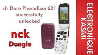 sfr Doro PhoneEasy 621 successfully unlocked nckDongle GenericMTK 1.50