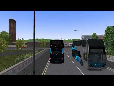 OMSI 2 - Alexander Dennis Trident - Uni Map (Download Links