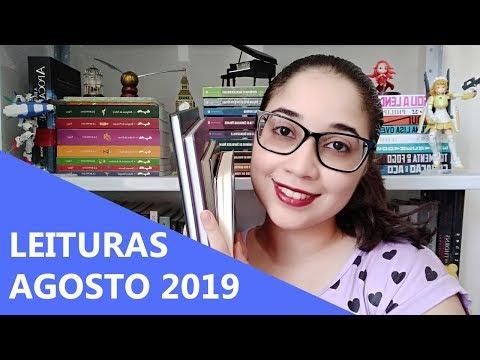 LEITURAS DE AGOSTO 2019 ?    Biblioteca da Rô
