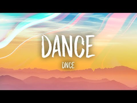 Dance (Song) by DNCE