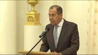 Выступление С.Лаврова  на презентации «Всемирной истории»  в шести томах