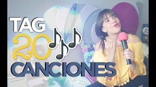 Tag de las 20 canciones 🎵- Ivanna Pérez