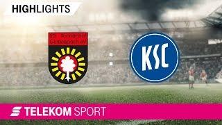 SG Sonnenhof Großaspach - Karlsruher SC | Spieltag 17, 18/19 | Telekom Sport