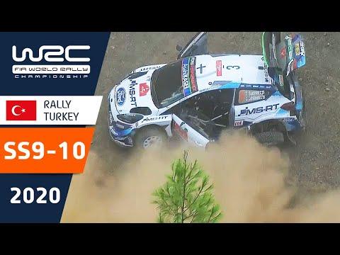 WRC ラリー・ターキー(トルコ)。SS9ーSS10の様子をダイジェストで楽しめるハイライト動画