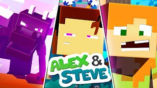 The Minecraft Life of Alex and Steve   MOVIE 3   Minecraft Animation