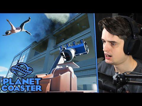 MAN VALT UIT ATTRACTIE - Planet Coaster #21