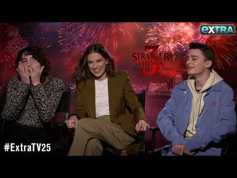 Millie Bobby Brown & Finn Wolfhard Talk Their Awkward Kissing Scenes on 'Stranger Things'