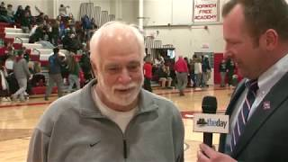 Halftime interview with Coach Bill Scarlata