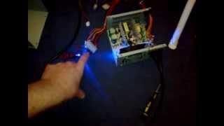 shack update. D.I.Y 12v 400w 10a P.S.U hack for radios