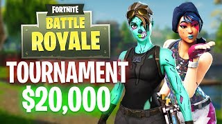 Fortnite YouTuber Tournament!! $20,000 Prize! (Fortnite Battle Royale)