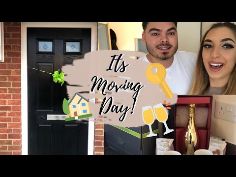 MOVING VLOG: WE GOT THE KEYS TO OUR FIRST HOME! | LAURA HAJDAR
