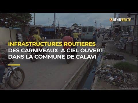 Infrastructures routières: des caniveaux a ciel ouvert dans la commune de Calavi