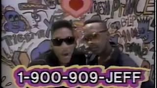 DJ Jazzy Jeff & The Fresh Prince Rap Hotline 1-900-909-JEFF 80s Commercial (1988)