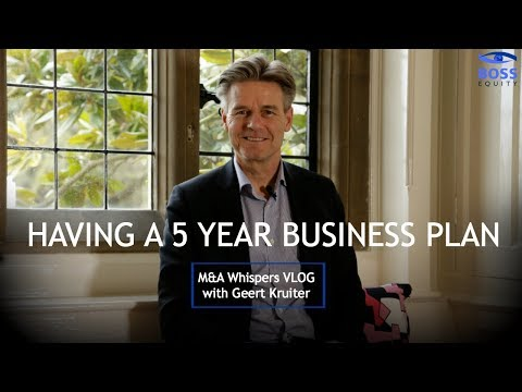 Having a 5 Year Business Plan