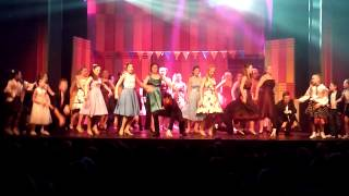'Shakin' at the High School Hop' from 'Grease the Musical' by Stage Theatre Society, 2013