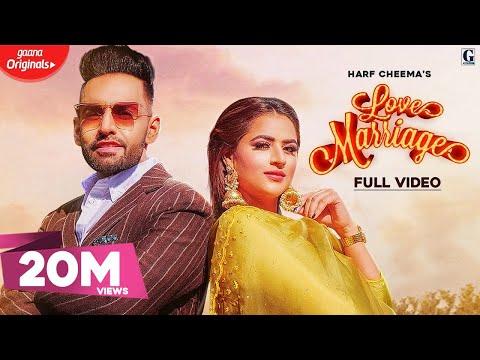 Love Marriage : Harf Cheema & Gurlez Akhtar (Full Video) MixSingh | GK DIGITAL | Geet MP3