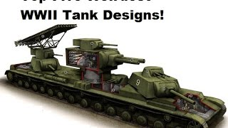 Top Five Weirdest WWII Tank Designs
