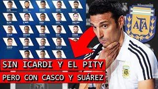 Los 23 CONVOCADOS de ARGENTINA para la COPA AMÉRICA 2019 🤔
