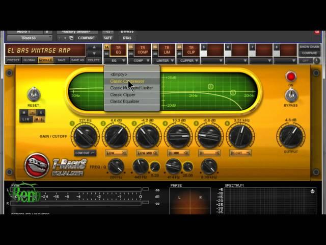 IK Multimedia T-Racks 3 Standard - Basic Overview