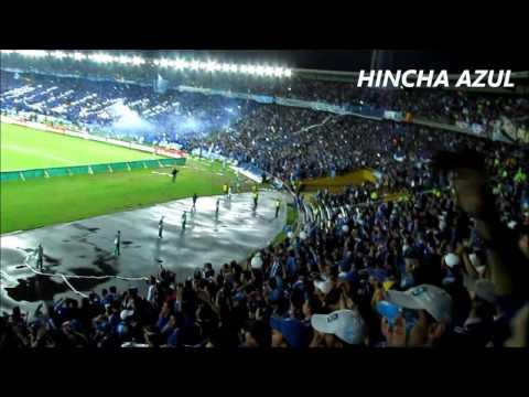 """Blue Rain - Millonarios 1 - 1 Tigre"" Barra: Blue Rain • Club: Millonarios"