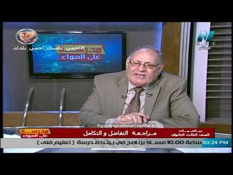 رياضيات الصف الثالث الثانوي 2020 - مراجعة عامة على التفاضل والتكامل - تقديم أ/ شعبان عبد الرازق
