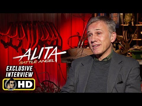 Christoph Waltz Interview for Alita: Battle Angel