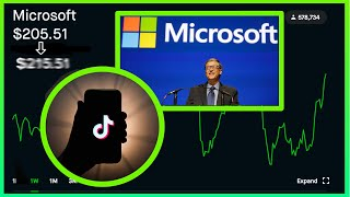 If Microsoft Buys Tik Tok This Could Happen To It's Stock! New MSFT Stock Price! Robinhood Investing