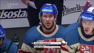Česko - Švédsko 8:4 + Retro Dresy (Euro Hockey Tour 2017) 1.část