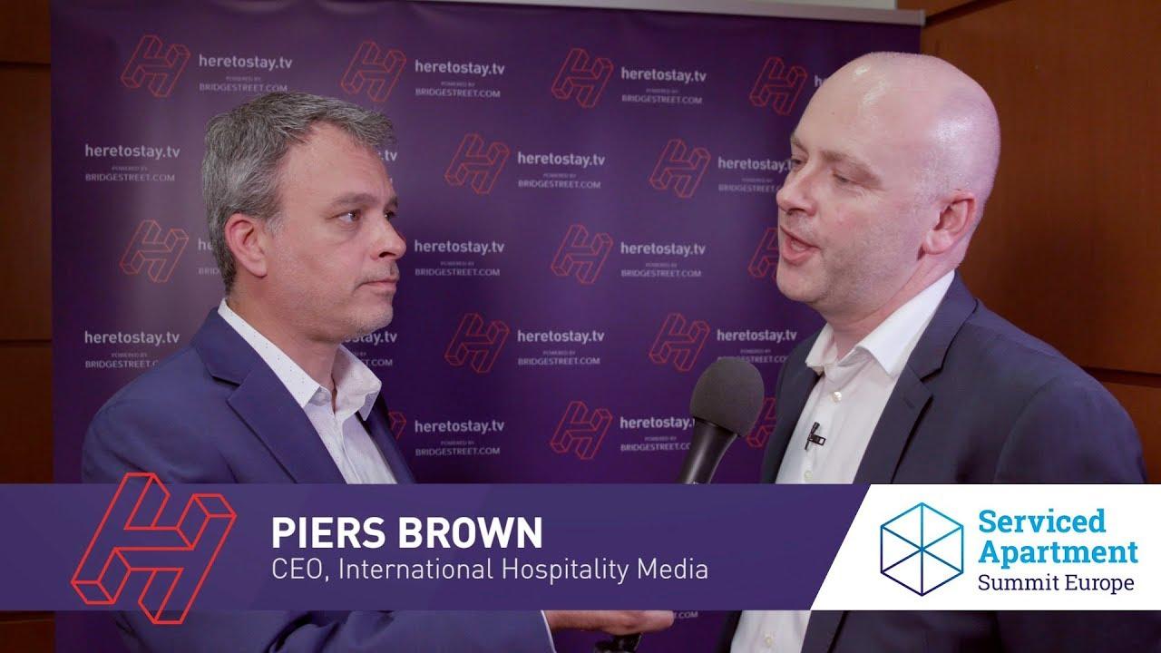 Heretostay TV at SASEU 2018: Piers Brown, International Hospitality Media