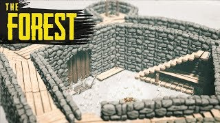THE COURTYARD! The Forest Hard Survival S3 Episode 40