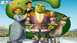 Shrek The Third | Full Movie Game | ZigZag Kids HD