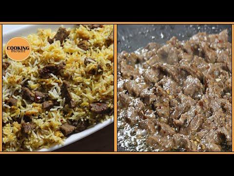 Beef Tawa Boti Masala Rice Recipe By Cooking Mount