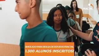 POR QUE ESTUDAR NO FRACTAL? SIMULADO FRACTAL 2018 - 1.300 inscritos!