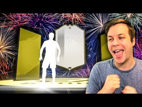 OMG ANOTHER ICON, HE'S GOING INTO THE TEAM!!!! - FIFA 19 Ultimate Team Pack Opening