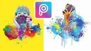 Gambar cover Cara Edit Foto Magic Splash di Android dan iOS   Picsart Tutorial