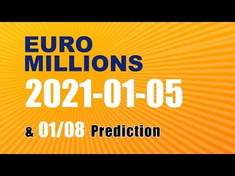 Winning numbers prediction for 2021-01-08|Euro Millions
