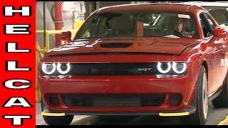 Dodge Hellcat vehicles assembly plant factory